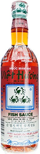 Three Crabs Brand Fish Sauce, 24-Ounce Bottle