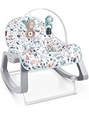 Fisher-Price Infant-to-Toddler Rocker, Multi, 1 Count (Pack of 1), GKH64