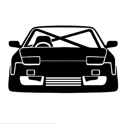 Amazon com: LXB Shop Racing Car Silhouette Macbooks Graphic