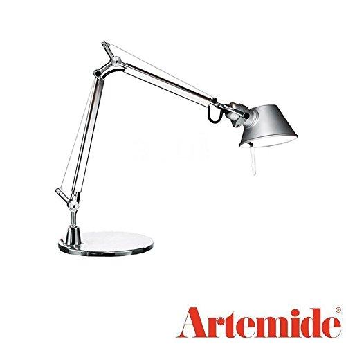 Tolomeo Micro Led Table - Artemide TOLOMEO Micro Table Lamp Aluminum Chrome LED INCLUDED Design Italy 1987