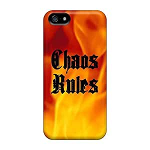 Faddish Phone Chaos Rules Case For Iphone 5/5s / Perfect Case Cover