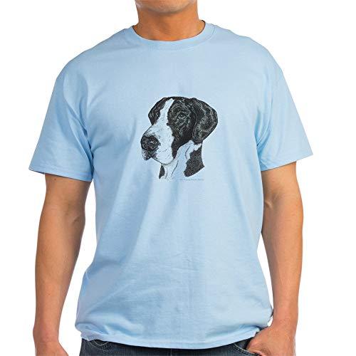 - CafePress Natural Mantle Great Dane in Dots Ash Grey T Shirt 100% Cotton T-Shirt