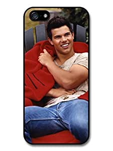 Taylor Lautner Red Blanket Photoshoot case for iPhone 5 5S A1399