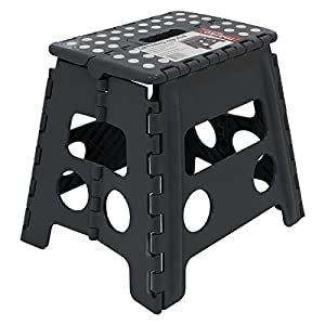 150kg Tall Single Step Plastic Folding Step Up Stools