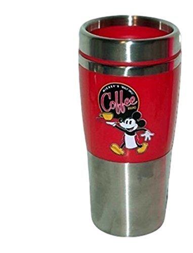 Disney Parks Mickeys Coffee Blend Red Travel Mug
