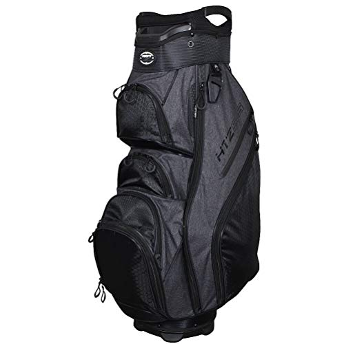 Hot-Z Designer Series 5.5 Cart Bag Black/Grey