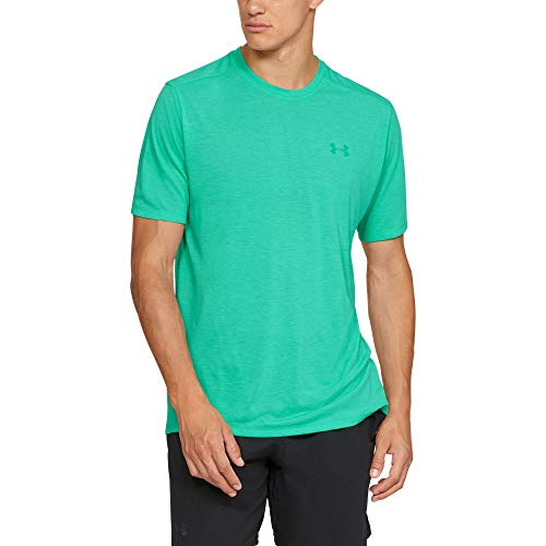 Under Armour Men's Siro Short Sleeve Shirt, Green Malachite Full (349)/Green Malachite, XX-Large