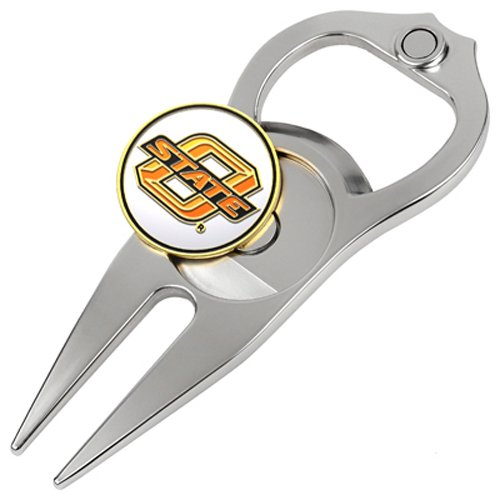 Hat Trick Openers 5-in-1 Divot Tool, Oklahoma State Cowboys Review