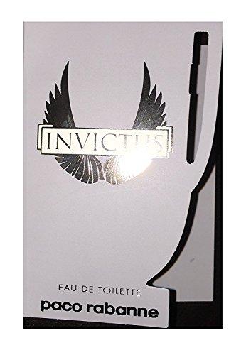 Paco Rabanne Invictus Eau de Toilette Spray for Men, vial, 0.05 fl. Oz./1.5 ml