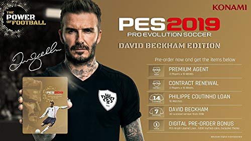 Pro Evolution Soccer 2019 - Xbox One David Beckham Edition (Best Xbox One Deals 2019)