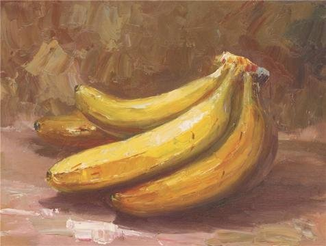 Oil Painting 'Bananas', 16 x 21 inch / 41 x 54 cm , on High Definition HD canvas prints is for Gifts And Basement, Garage And Nursery Decoration, how to (Themes For Dressing Up In Groups)