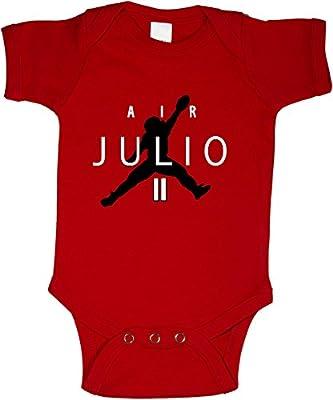 """Red Atlanta Jones """"Air Julio"""" Baby 1 piece"""