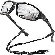 JUASHINE Polarized Sunglasses For Men Women Sports Fishing Baseball Cycling Running Driving Golf Motorcycle UV