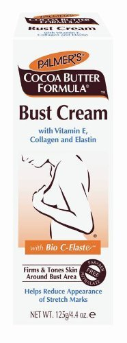 Palmer's Cocoa Butter Formula Bust Cream With Vitamin E , 4.4-Ounce Tubes (Pack of 3) by Palmer's