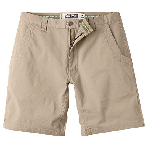 Mountain Khakis Mens All Mountain Slim Fit Short: Best Outdoor Hiking Summer Casual Short, Freestone, 38W 8In ()
