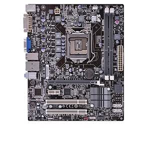 ECS Socket 1155/ Intel H61/ DDR3/ A&GbE/ MATX Motherboard, H61H2-M3