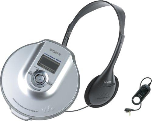 Sony D-NE500 ATRAC Walkman Portable CD Player (Silver)
