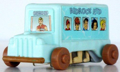 The Flintstones Bus Toy - 1994 The Flintstones Movie UK McDonald's Happy Meal Toy (Flintstones Mcdonalds Toys)