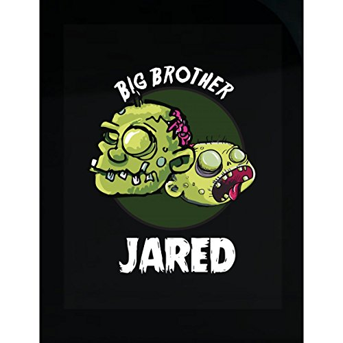 Halloween Costume Jared Big Brother Funny Boys Personalized Gift - Sticker