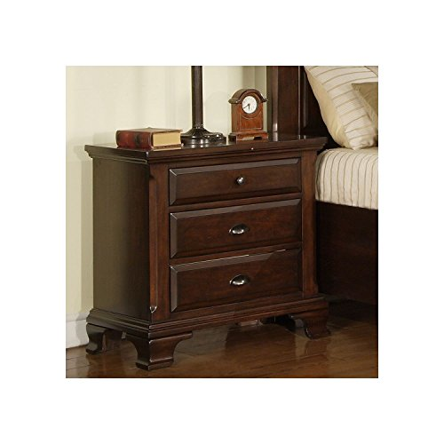 - Brinley Cherry Collection Nightstand