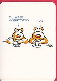 Witzige Geburtstagskarte Hoch sollst Du leben Giraffen A6: Amazon