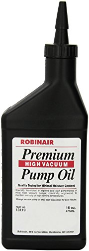 Robinair 13119 Premium High Vacuum Pump Oil, Pack of 1
