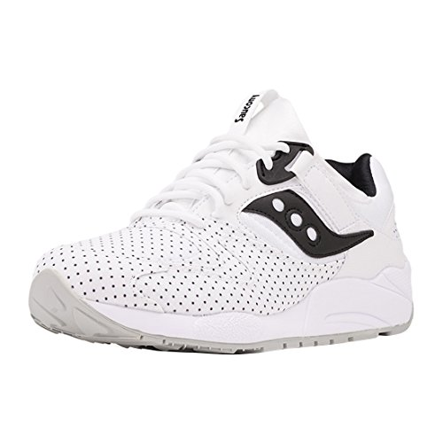 Baskets Saucony Grid 9000 Blanc 85%OFF - bignateproductions.com 42b047ae12a