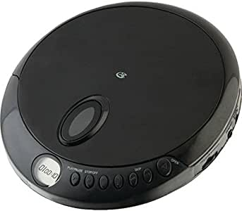 GPX PC301B Portable CD Player with Stereo Earbuds and Anti-Skip Protection (Discontinued by Manufacturer)