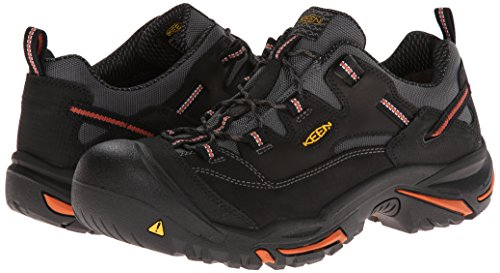 9c65c8f1bd KEEN Utility Men s Braddock Low Steel Toe Work Shoe - Import It All