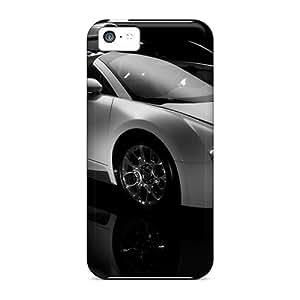 GunsRoses Slim Fit Tpu Protector Shock Absorbent Bumper Case For Iphone 5c
