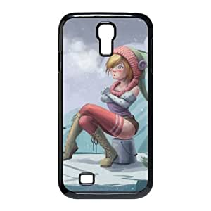ice fishing Samsung Galaxy S4 9500 Cell Phone Case Black xlb2-038067