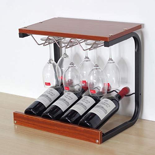HUIYUE Sostenedor de Botella de Vino doméstico, Moderno botellero ...