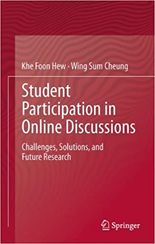 Student Participation in Online Discussions: Challenges, Solutions