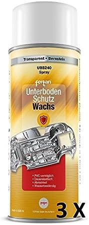 3 X Fertan 500 Ml Unterbodenschutzwachs Ubs240 Unterboden Wachs Pkw Schutz Restauration Unterbodenschutzwachs Auto
