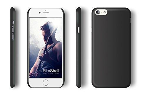 vau SlimShell Case - matte black - Hülle, Tasche für Apple iPhone 6 PLUS / 6S PLUS