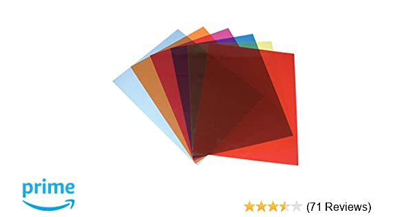 Amazon.com: Tinted Plastic Reading Sheets, Set of 5: Beauty