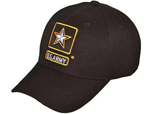 US Army Logo Military Baseball Hats (Black) - 4093