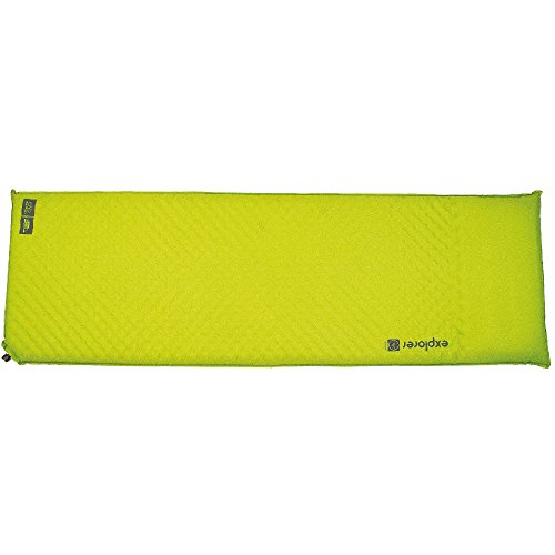 Highlander Outdoor Explorer Self Inflate Mat, Green