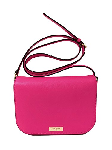 Peony Carsen Bag Spade Laurel Pink Kate Saffiano Large York New Crossbody Way Leather SAPSY6qw