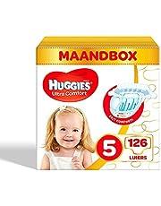 Huggies luiers maat 5 (11-25kg), Ultra Comfort, baby voordeelverpakking, 126 stuks