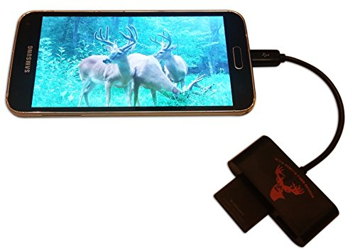 Buckstruck Game And Trail Camera Viewer For Android Devices  Micro Usb Connection  Reads   Writes Sd And Micro Sd Cards For Hunting And Game Camera Card Reader