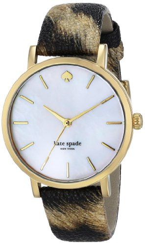 kate spade new york Women's 1YRU0485 Metro Analog Display Japanese Quartz Multi-Color Watch