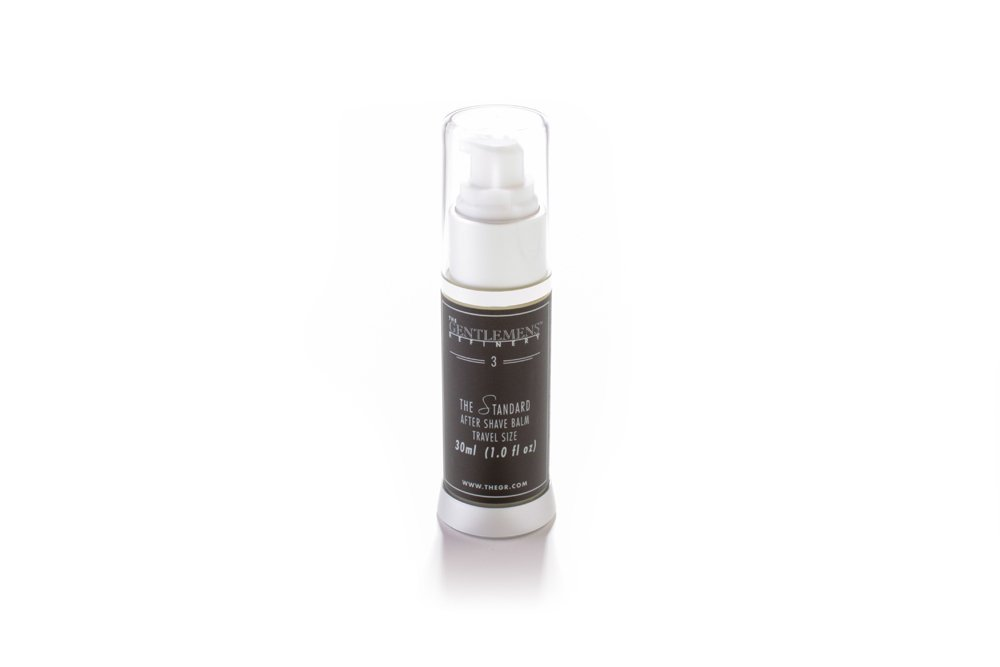 The Gentlemens Refinery 'The Standard' After Shave Balm TSA Travel Size, All-Natural & Organic, 30ml -689076671446