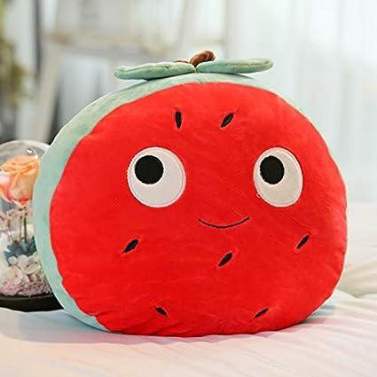POPRY Juguete de Peluche Fresa Sandía Fruta Dibujos Animados muñeca Almohada Creativa muñecas Enviar Regalos niñas