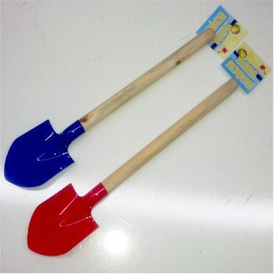 Beach Toys Small Wooden Handle Shovel by Royal Image