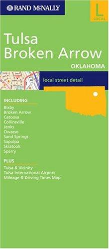 Tulsa  Brocken Arrow  Rand McNally City Maps
