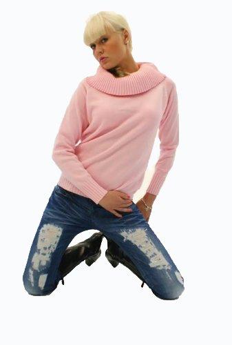 Trend alette accoccolo alette Pullover Rosa (821) rosa 52