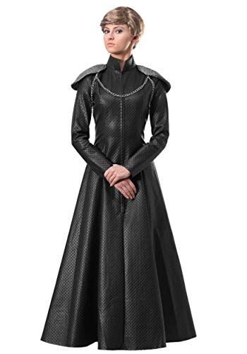 Lion Queen Armor Gown Costume Medium Black ()