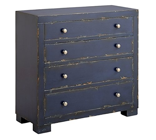 Midnight Accent Chest - Stein World 13490 Templeton Dark Midnight Sky Four Drawer Chest