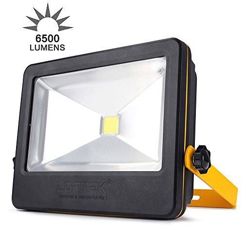 LOFTEK 50W Daylight White Floodlight, Super Bri...